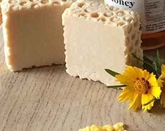 Honey and Beeswax Handcrafted Soap