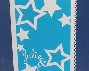 Share wedding names in the stars