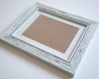 """Poster frame 18x24"""" frame wood frame rustic frame driftwood frame picture frame distressed frame cottage frame crafts RusticFrameShop"""