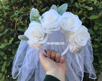 Bridal Disney Floral Ears