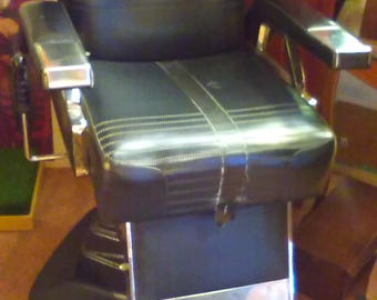 Late 1960's Early 1970's Barber Chairs