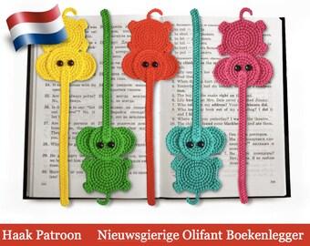 142NLY Haak patroon - Olifant decoratie of boekenlegger - Amigurumi PDF file by Zabelina Etsy