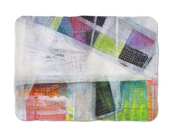 Abstract Blanket, Abstract Art Fleece Blankets, Soft Throw Blanket , Large Throws, Bedspreads And Throws, Decorative Throws