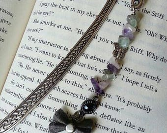 Bookmark, Butterfly bookmark, new bookmark, Gemstone Bookmark, gifts for book lovers, gifts for teacher