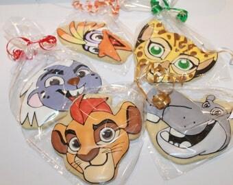 Lion Guard  cookies (12)