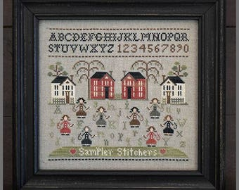 """LITTLE HOUSE NEEDLEWORKS """"Sampler Stitches"""" 