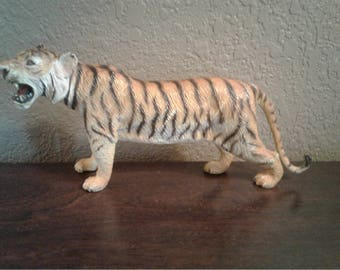 Vintage Roaring Tiger Toy Figurine