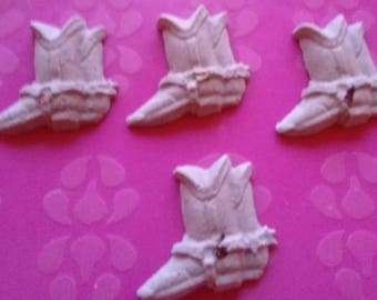 4 X Cowboy Boots - Bath Bombs - 98 grams