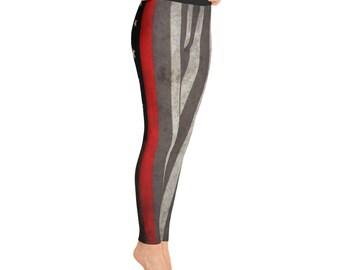 Thin Red Line Leggings