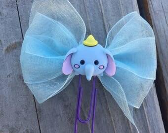 Tsum Tsum Dumbo Bow Planner Clip