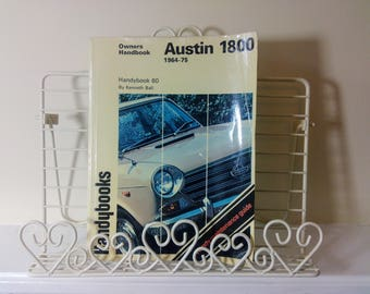 Handybooks,Owners Handbook, Manual, Austin, 1800 1964-75, Classic Car, Automobile