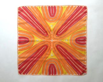 Amazing Abstract Vera Silk Scarf