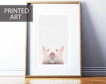 Pig Print,modern wall art, framed wall art, poster art, art prints, online modern art prints, posters and prints framed art prints