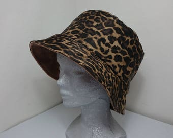 Hat special rain canvas Panther.