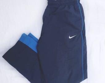 90s Nike Jogger Pants Sweatpants Trousers Size Medium