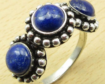 Silver Plated Gemstone Finger Ring Jewelry