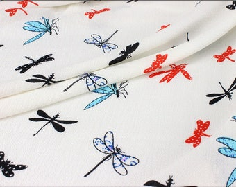 White chiffon dress Dragonfly 3 m