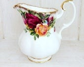 Royal Albert Milk Jug  Old Country Roses  Bone China