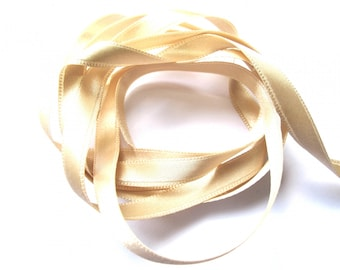 PINK DOUBLE-SIDED 8MM OLD SATIN RIBBON
