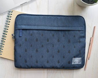 "13"",15"" dark blue laptop sleeve, macbook sleeve, macbook pro 13"" sleeve case, apple12"" macbook sleeve case,macbook pro 15"" sleeve case"