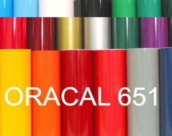 "10 Sheets ORACLE 651 Craft Hobby Vinyl. 50 COLORS available. 12"" X 12"""" each . Includes Silver and Gold!"