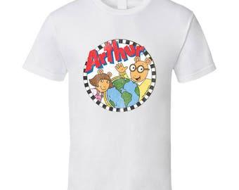 Arthur Fun 80s Vintage Retro Tv Show Graphic Tee Shirt
