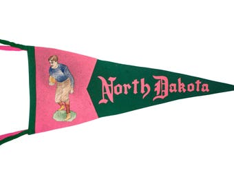 University of North Dakota pennant