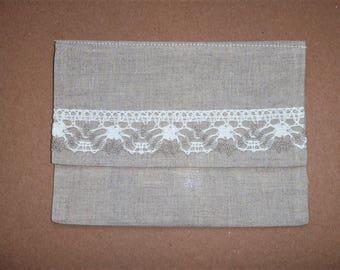 Cloth Gift Envelope * Linen Gift Envelope * Wedding Gift Envelope * Gift Wrap * Decorative Linen Envelope