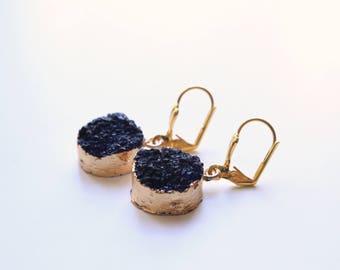 CALLIOPE black earrings