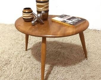 50s 60s original Ercol pebble table (medium of 3 sizes)