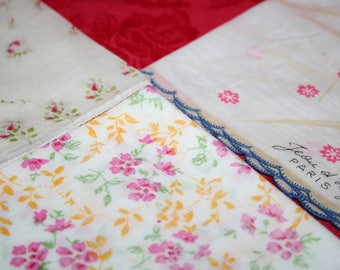 Vintage Floral Hankies (Lot of 3)