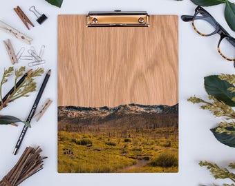 Wood Clipboard | Tahoe No 2281, Natural Wood, Unique Clipboard