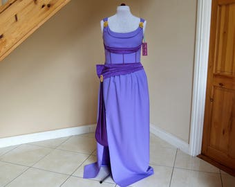 Megara inspired dress MADE TO MEASURE only.