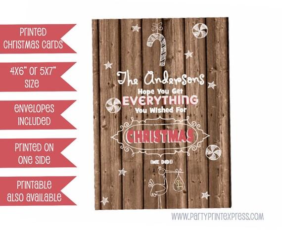 il_570xn - Pregnancy Announcement Christmas Card