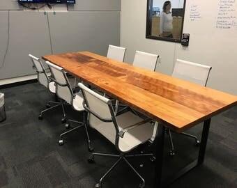 Reclaimed Wood Table. Industrial Table. Industrial Desk. Rustic Table.  Rustic Desk.