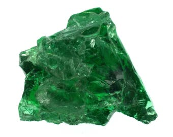 Emerald Green Monatomic Andara Crystal California Specimen Number 186