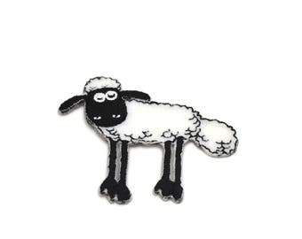 Applique badge patch Thermo sheep
