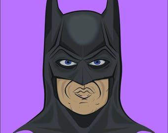 89 Batman Print