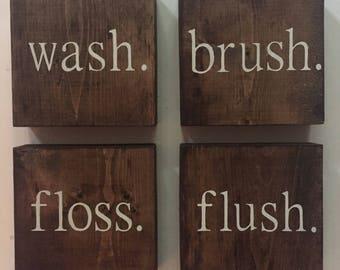 Bathroom Decor | Funny Bathroom Art | Bathroom Wall Decor | Funny Bathroom Sign | Bathroom Decor | Rustic Bathroom | Bathroom Wall Art |