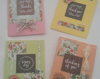 Everyday Greetings Four Card Set