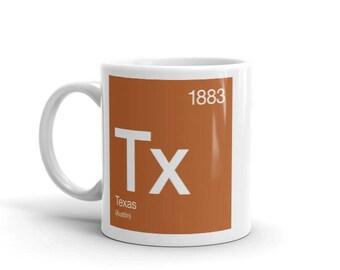 Texas Periodic Table Mug