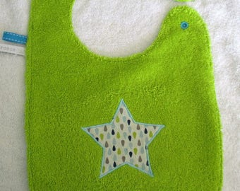 Lined in Terry and cotton bib drops - in stock
