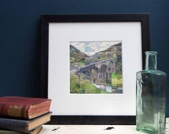 Monsal Head, Derbyshire Print
