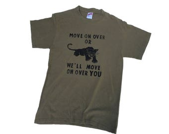 Black Panther Party shirt SMALL
