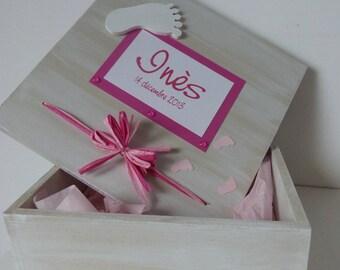 Box of birth 'feet'