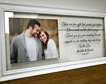 Wedding Frame Parent Parents Picture Frame Wedding Gifts for Parents Mother of the Groom Gift  Mother of the Bride Gift Gifts for Parents