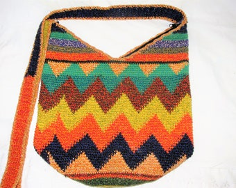 Fun Summer Hippi Bag In Summer Colors