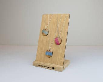 Necklace Display Stand, Jewellery Display Board, Retail Display, Craft Stall Display, Jewellery Organisation, Personalised Logo Branding