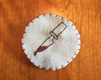 Bloody Knife Patch