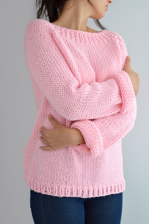 Fairy Kei Sweater Pattern // Oversized Sweater Pattern Knit